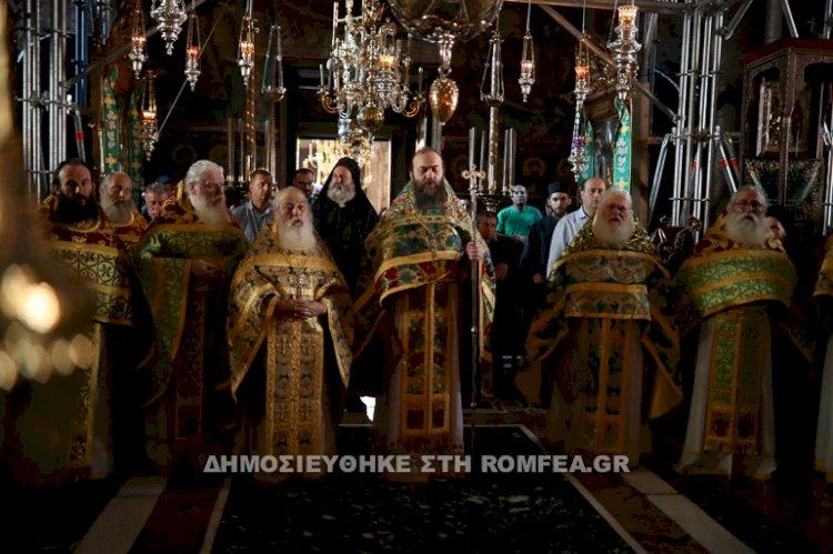Хиландарски игуман на прослави Ватопедских отаца