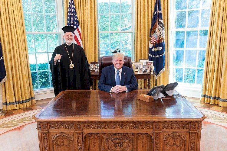 Света Софија: Председник Трамп примио првославног Архиепископа