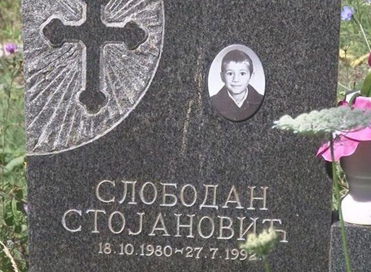 Уместо воштанице малом Слободану Стојановићу