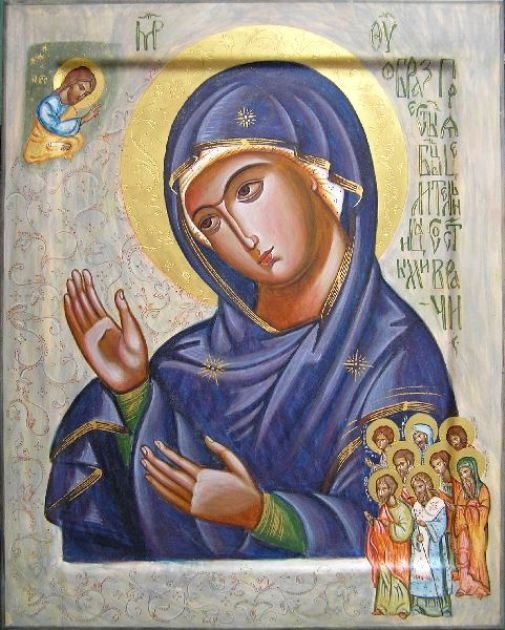 Молитва Матери Божијој за обраћење заблуделог Светога Гаврила Новогодског