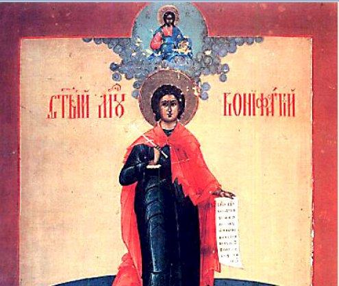 Канон светом мученику Бонифацију