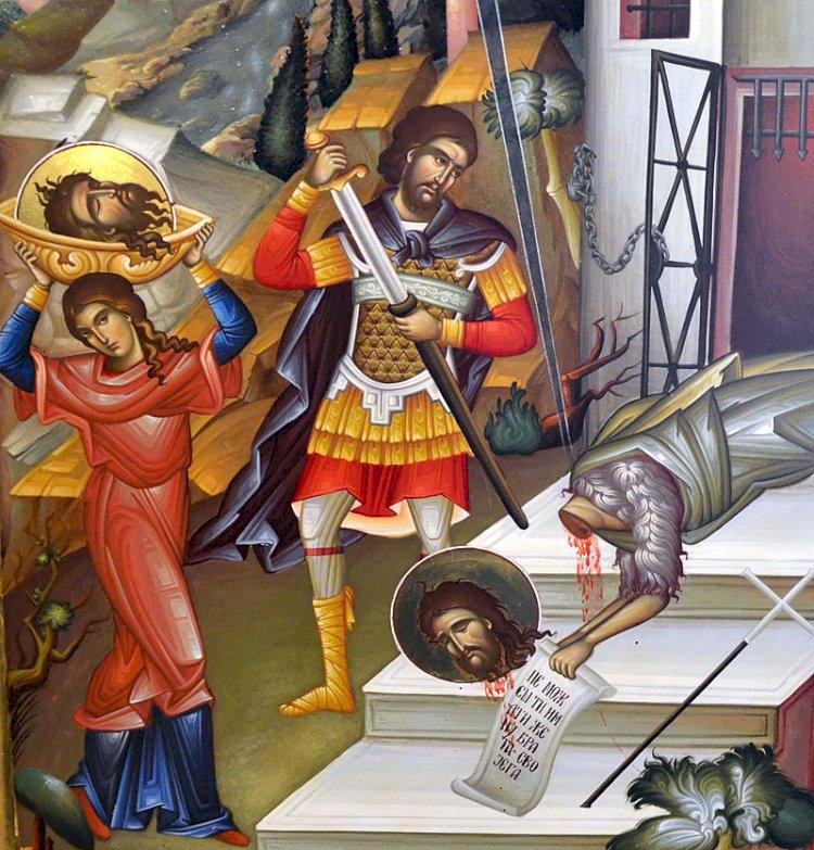 Усековање часне главе Светог Јована Крститеља – мали Велики петак
