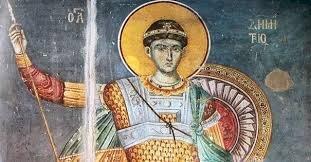 Акатист светом великомученику Димитрију солунском