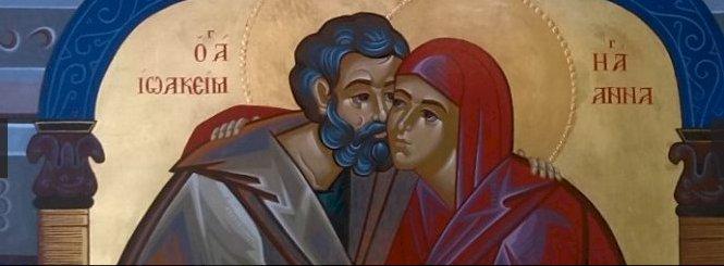 Акатист светим праведним богородитељима Јоакиму и Ани