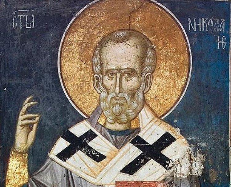Свети и богоносни отац наш Николај, Архиепископ мирликијски чудотворац