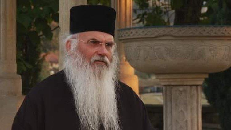 Наручје цркве – митрополит Николај Хаџиниколау