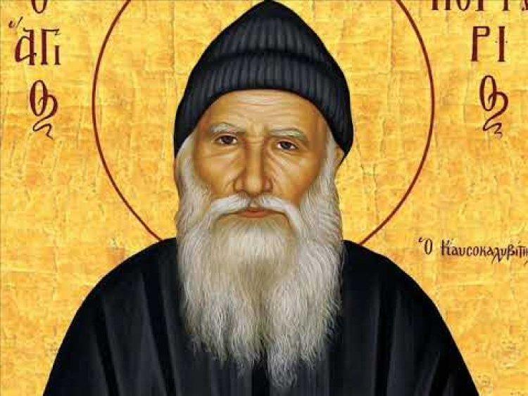 Старац Порфирије Кавсокаливит : У молитви је важан интензитет